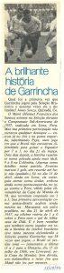 Read more about the article Seleção Brasileira. A brilhante história de Garrincha