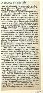Read more about the article O Soccer e suas leis