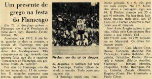 Read more about the article Um presente de grego na festa do Flamengo
