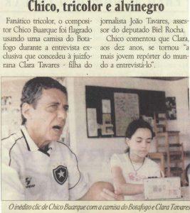 Read more about the article Chico, tricolor e alvinegro
