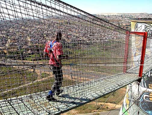 torres em Soweto na África do Sul