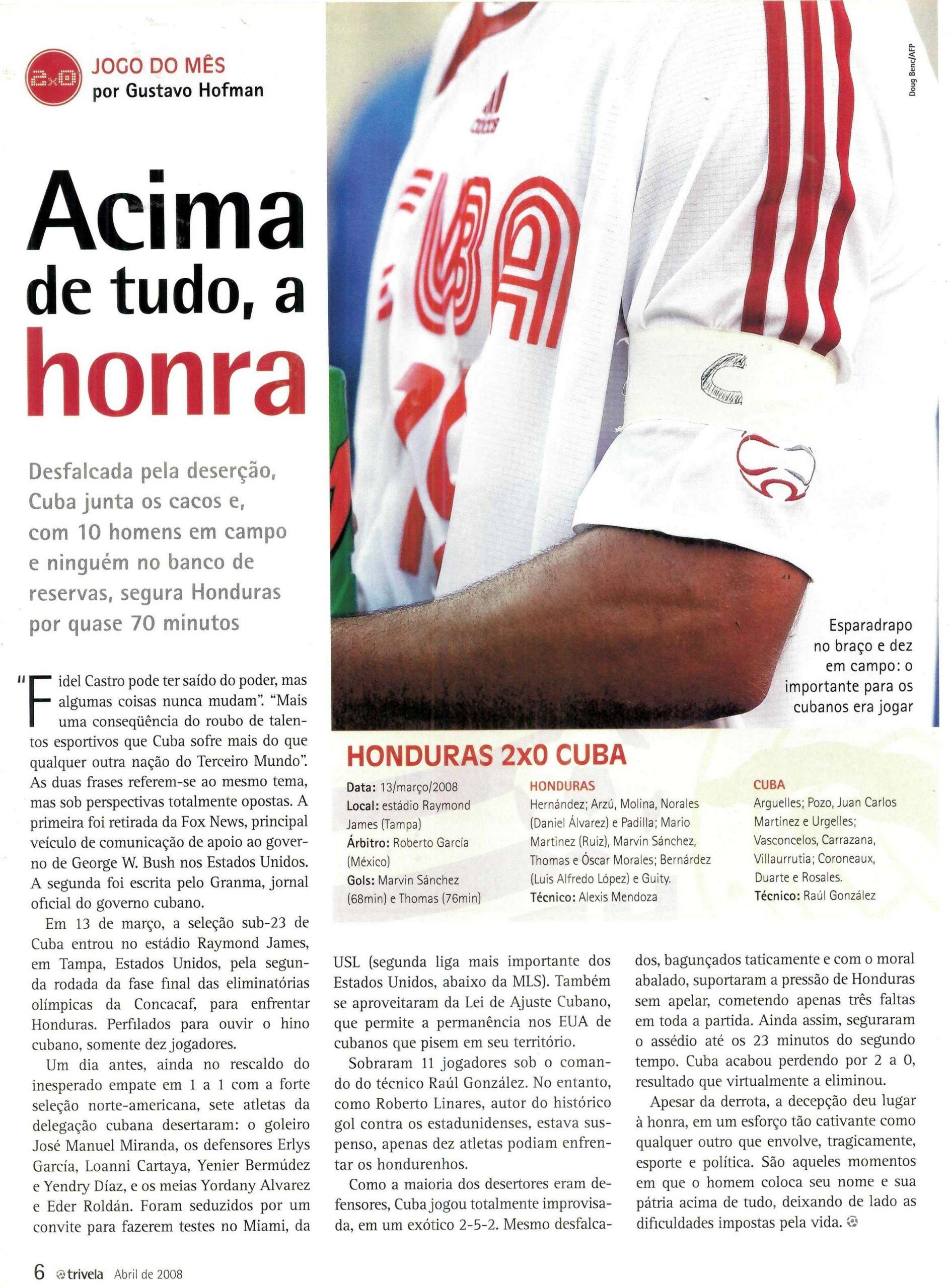 Read more about the article Acimada de tudo, a honra