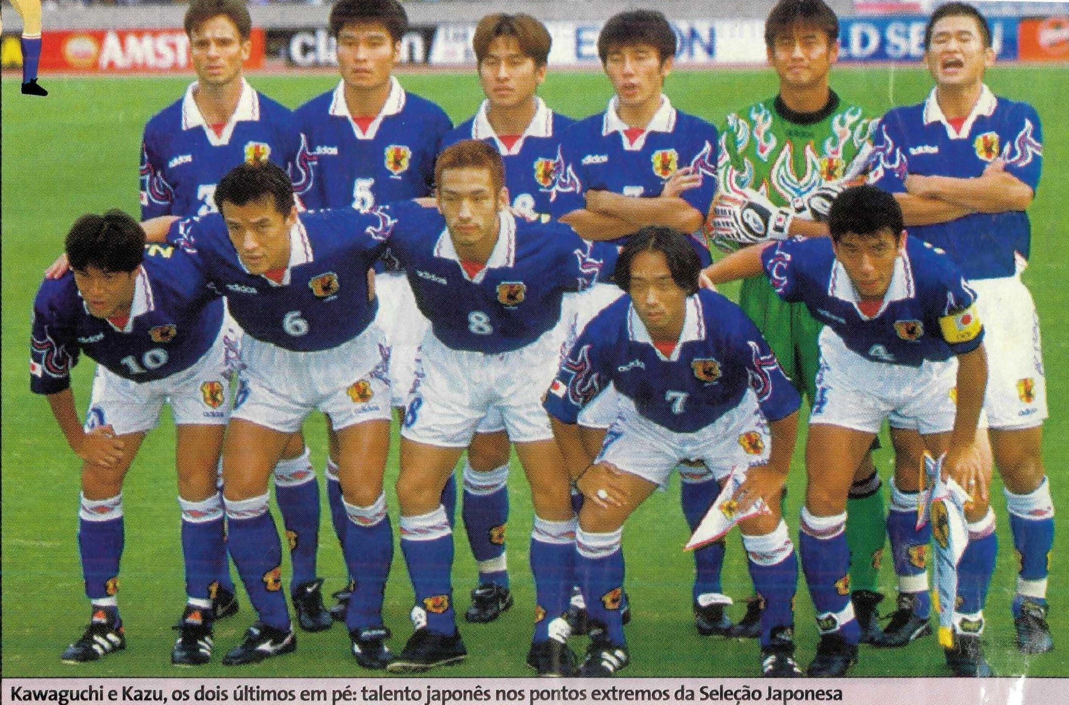 Read more about the article Fotos Seleção de Futebol Japão