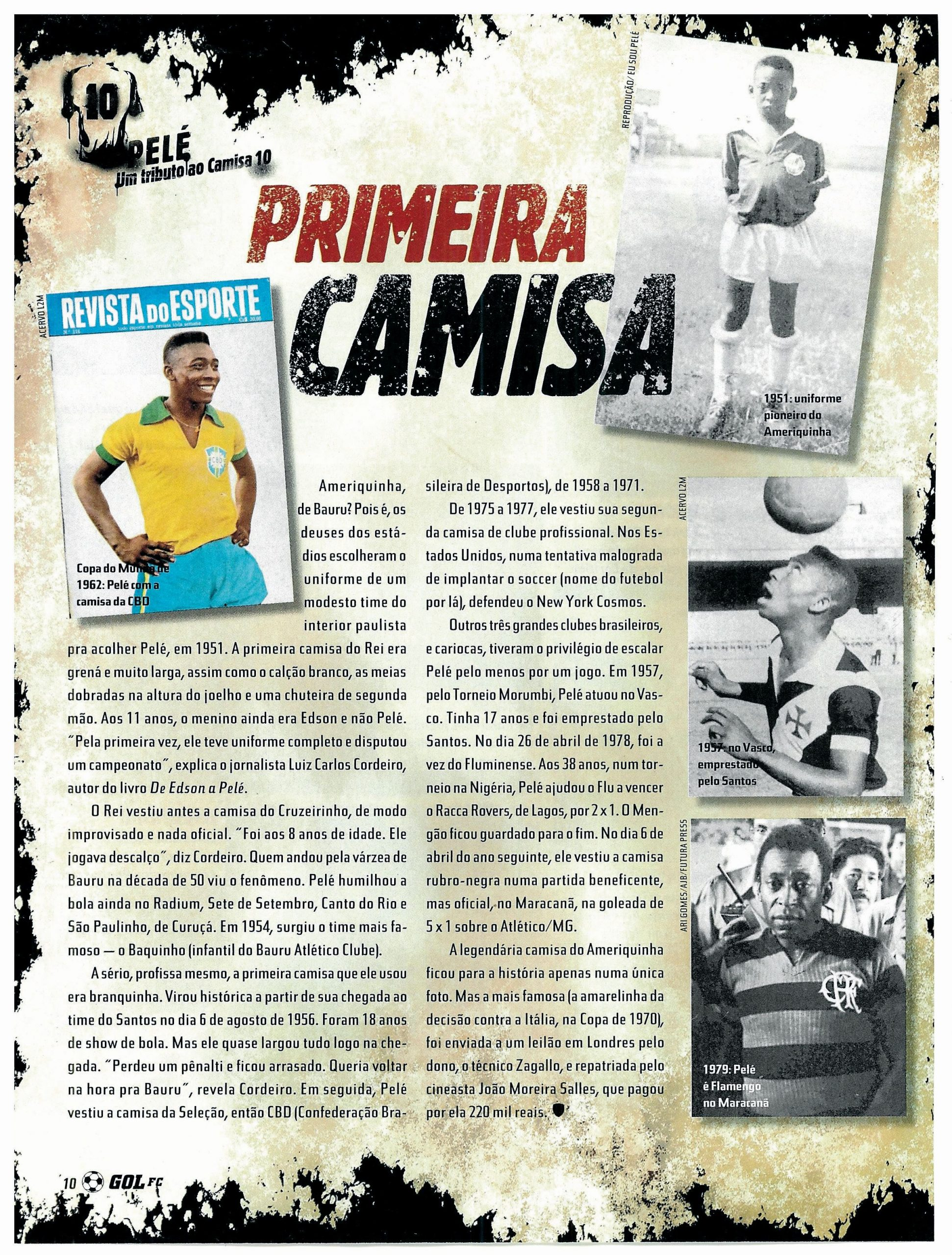 Read more about the article Primeira camisa