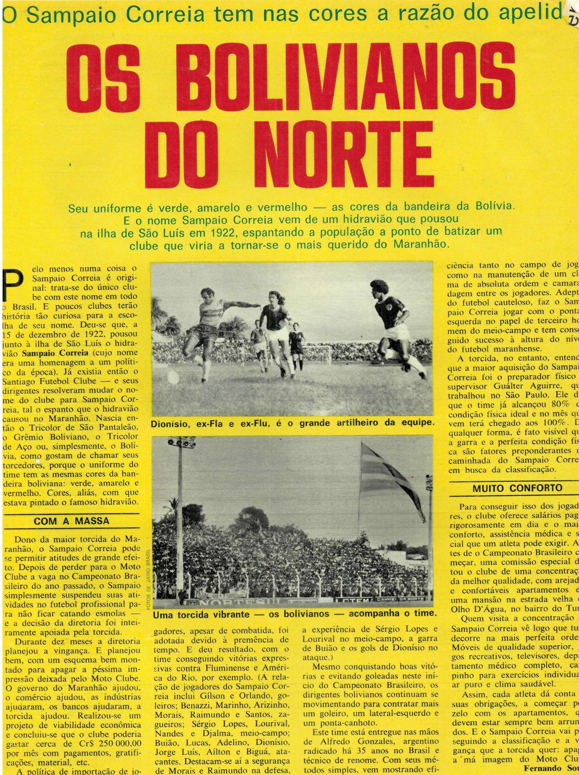 You are currently viewing Os bolivianos do norte