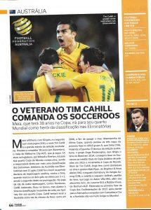 Read more about the article Austrália – O veterano Tim Cahill comanda os soccerros