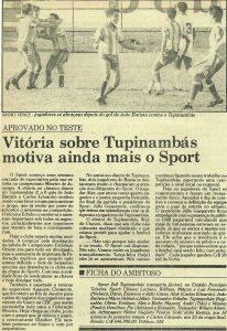 Read more about the article Vitória sobre Tupynambás motiva ainda mais o Sport