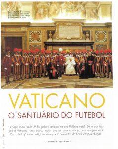 Read more about the article Vaticano. O santuário do futebol