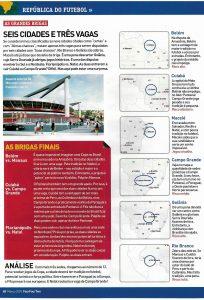 Read more about the article Seis cidades e três vagas