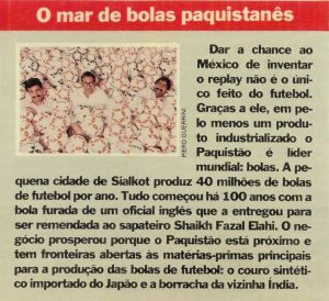 Read more about the article O mar de bola paquistanês