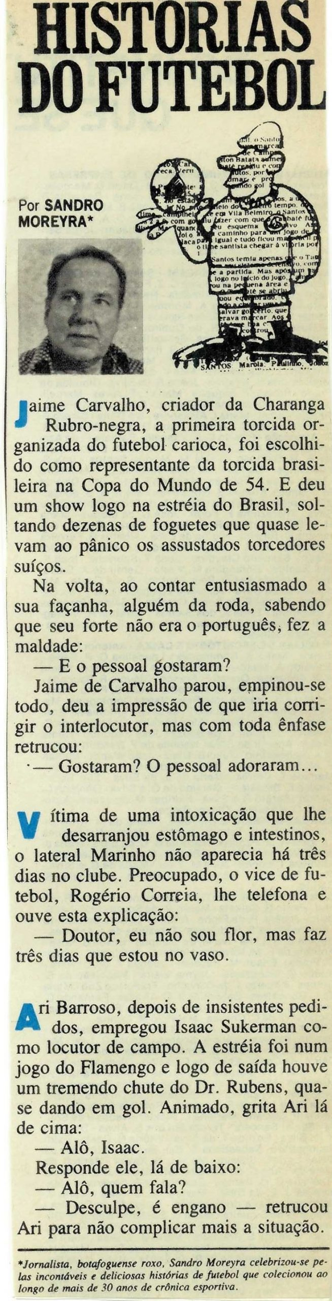 Read more about the article Histórias do Futebol