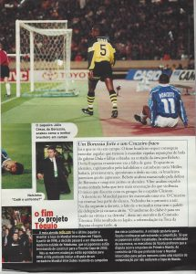 Read more about the article Cruzeiro. O fim do projeto Tóquio