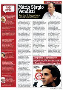 Read more about the article Quem tem 15 titulares hoje no futebol brasileiro?