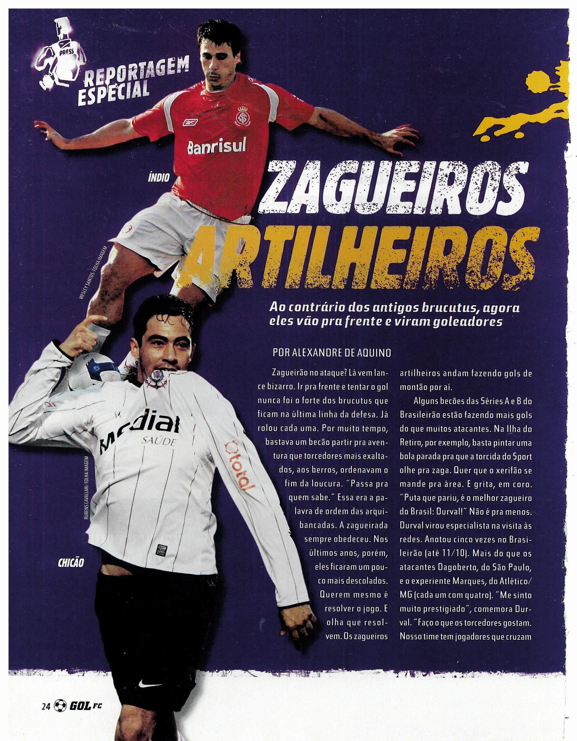 You are currently viewing Zagueiros artilheiros