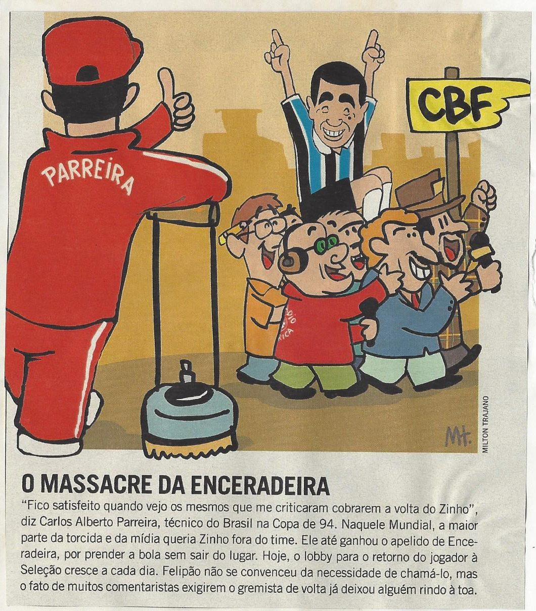 You are currently viewing O massacre da enceradeira