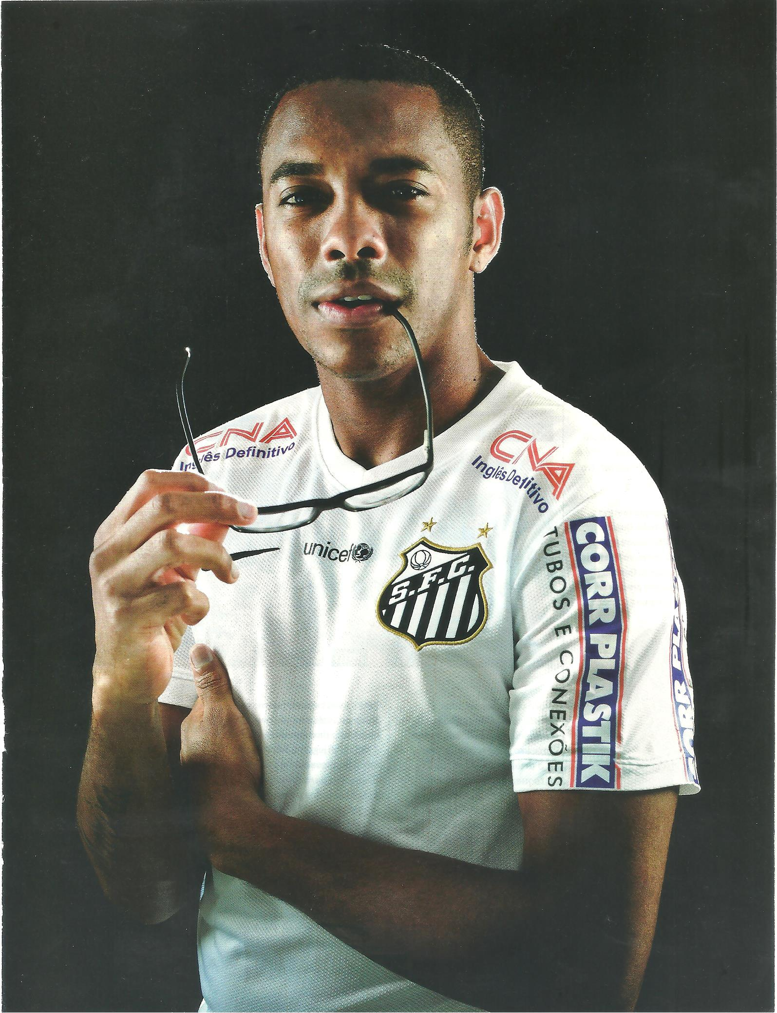You are currently viewing Robinho, Santos F. C