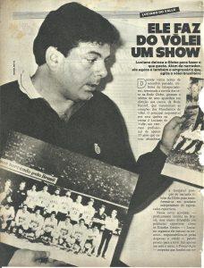 Read more about the article Volei. Ele fez do esporte um show